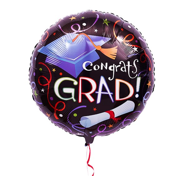 Graduation Mylar Balloon Miss Daisy S Flowers Amp Gifts